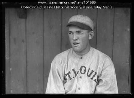 Rogers Hornsby of the St. Louis Cardinals, Portland, ca. 1920