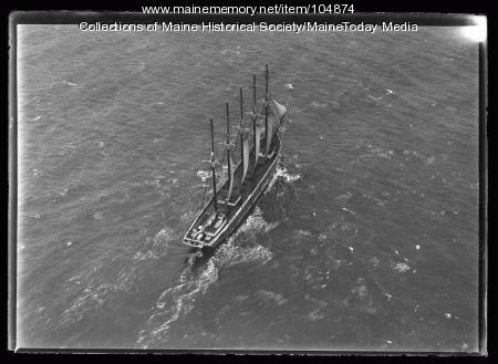 Sailing vessel, ca. 1920