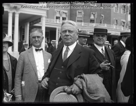 Governors gathered for convention at Poland Springs, 1925