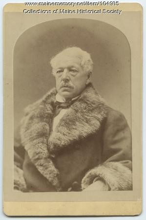 Portrait of John Bundy Brown, Portland, ca. 1875