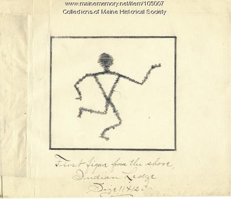 Sketch of Gluscabe, Embden, 1894