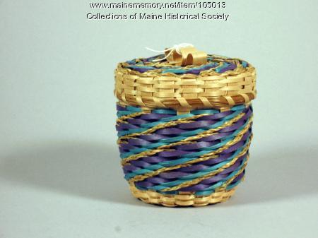 Clara Keezer basket, Perry, 1996