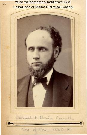 Daniel F. Davis, Corinth, 1880