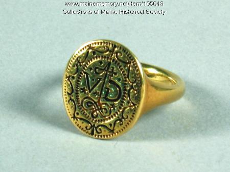 Signet ring, Richmond Island, ca. 1580