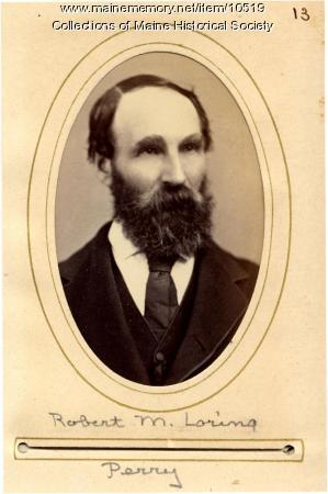Robert M. Loring, Perry, 1880