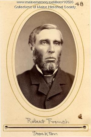 Robert French, Stockton, 1880