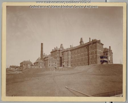 Maine General Hospital, Portland, ca. 1900