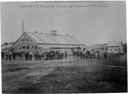The Tannery, New Limerick, ca. 1895