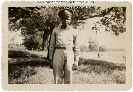 Robert Holley, North Yarmouth, 1942