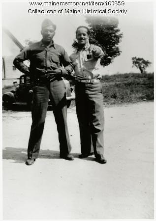 Harding Moore and Dawson H. Carney, North Yarmouth, 1942