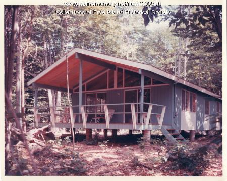 Cottage on Lot #1287 Hemlock Road, Frye Island, ca. 1970
