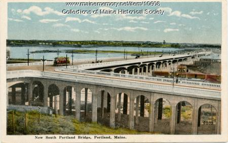 New South Portland Bridge, South Portland, ca. 1916
