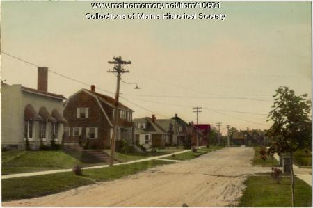 Clifford Street, Sylvan Site, South Portland, c. 1920s