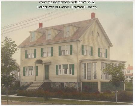 Sylvan Site house, 14 Adelbert St., South Portland, ca. 1920s