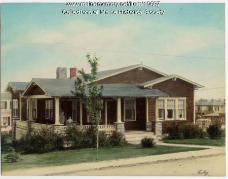 Bungalow, 970 Sawyer Street, South Portland, ca. 1920s