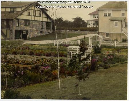 Gardens on Sawyer Street, South Portland, ca. 1920s