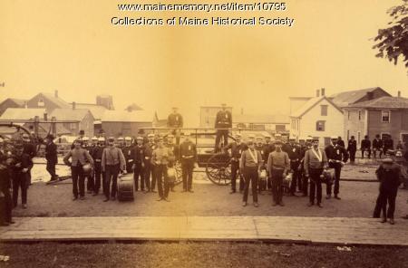 Pumgustuk Fire Company, Yarmouth, ca. 1900