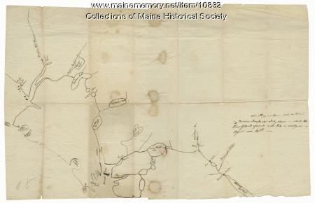 Francis Joseph Neptune map, Cobscook River, 1798