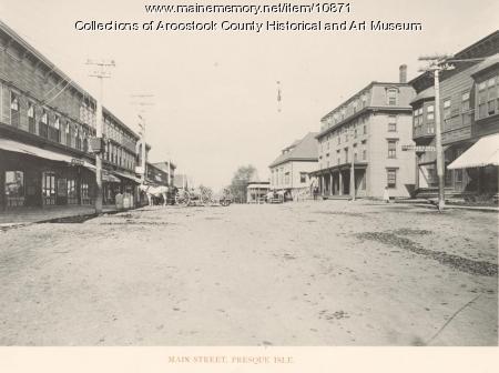 Main Street, Presque Isle, ca. 1895