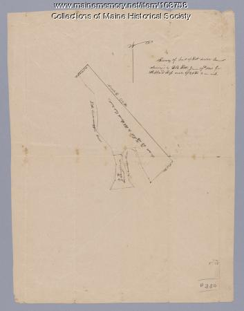 Survey of part of lot 155, 1841