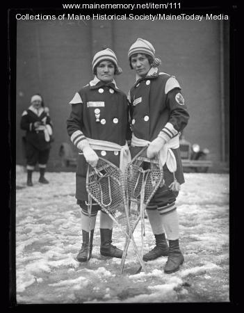 Regina Carrier, Mary Ann Vachon, Biddeford, 1927