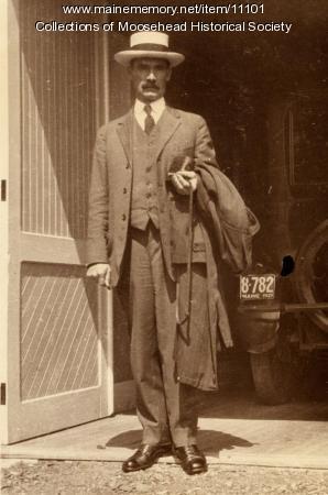 Louis Oakes, Greenville, ca. 1921