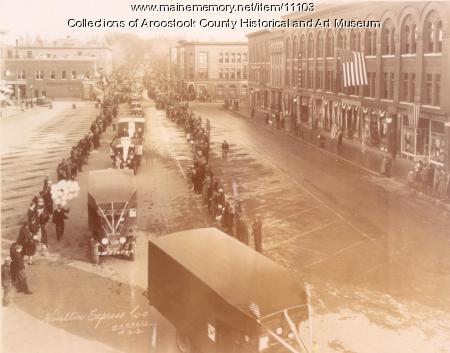 Houlton Armistice Day parade, c. 1935