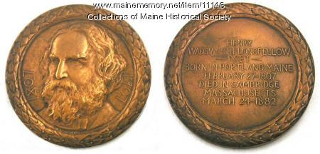 Longfellow Commemorative Medallion