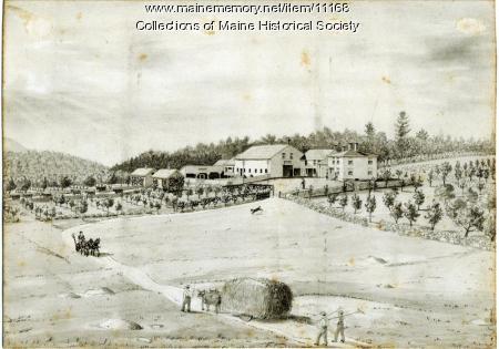 Whitney Farm, Harrison, ca. 1880