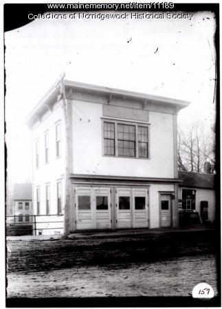 Norridgewock Fire Station, 1955