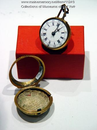 18th century pocket watch and case