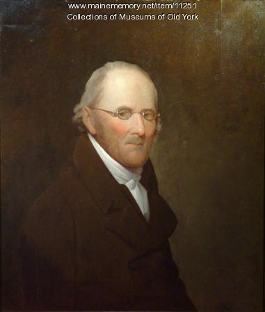 Portrait of Nathaniel Barrell, 1816