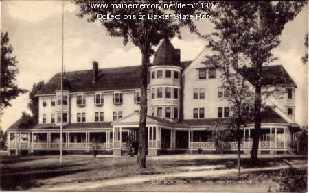 Great Northern Hotel, Millinocket, ca. 1930