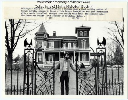 Maine Memory Network Stephen King Bangor 1982