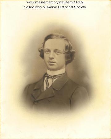 Alonzo Stinson, Portland, ca. 1860