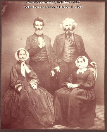 Webb siblings, Gorham, 1863