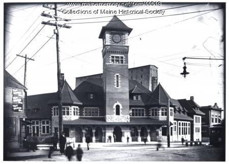 Grand Trunk station, Portland, ca. 1904