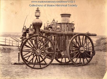Cumberland No. 3  Steam Fire Engine, 1862