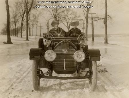 Portland Company automobile, ca. 1910