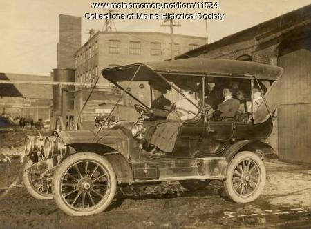 Thomas automobile, Portland, ca. 1910