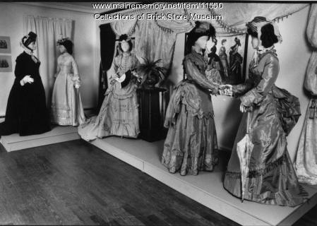 Five dresses, c. 1870-1890