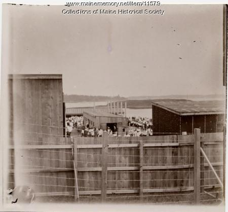 Stockade, Fort Long, Kittery Navy Yard, 1898