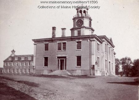 Officers' Building, Kittery Navy Yard, c. 1897