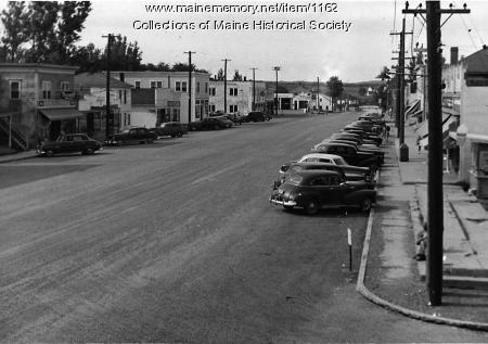 Main Street, Mars Hill, ca. 1950