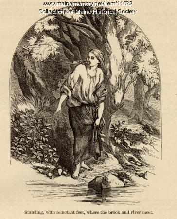 'Maidenhood' illustration, ca. 1880