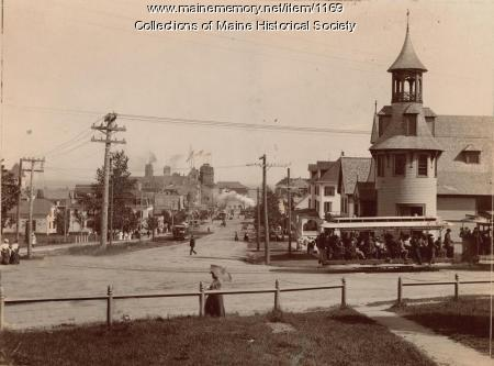 Old Orchard Street, Old Orchard Beach, ca. 1900