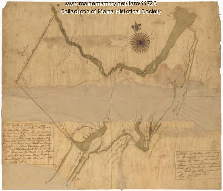 Map of Brunswick, 1795