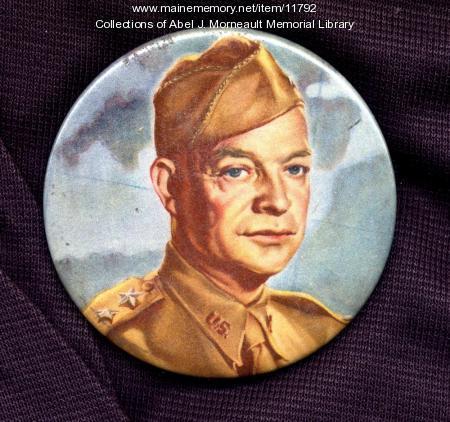 General Dwight D. Eisenhower button