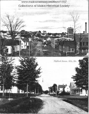 West Main Street, Milo, ca. 1907