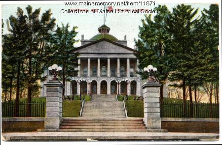 State Capitol, Augusta, ca. 1920